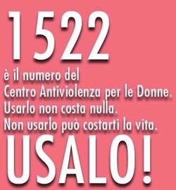 Numero telefonico 1522