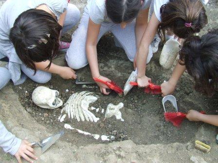 Scavo archeologico didattico