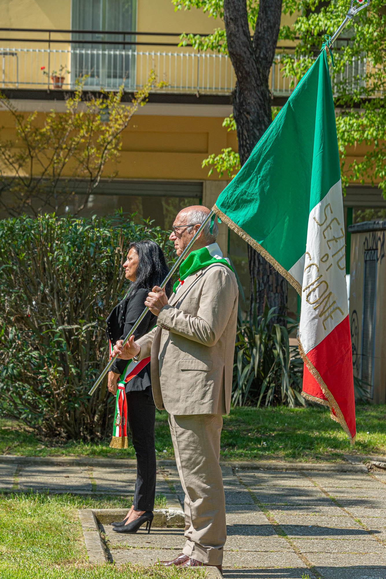 Danilo Trappoli e il sindaco di Riccione Renata Tosi