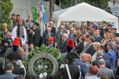 Commemorazione cimitero dei Greci