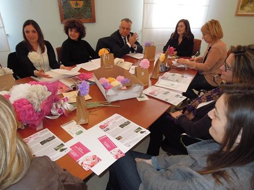La presentazione di Giardini d'Autore Primavera 2014 stamane in Municipio