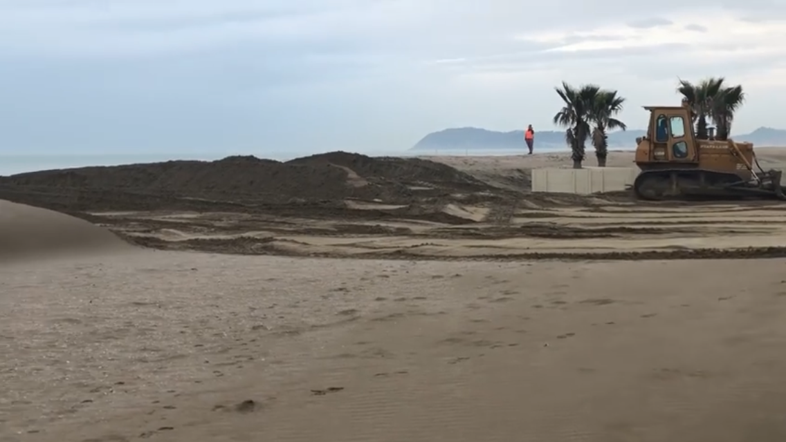 Lavori all duna
