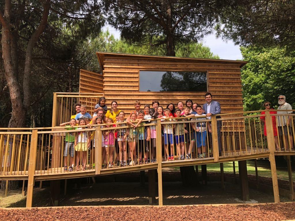 Inaugurazione nuova casina di legno al Parco Resistenza.jpeg