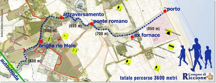 tratto del Porto Rio Melo