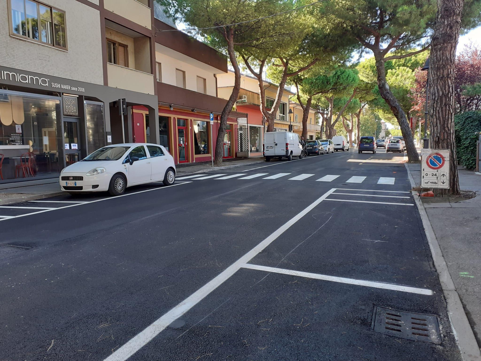 Nuovi asfalti in C.F. Cervi