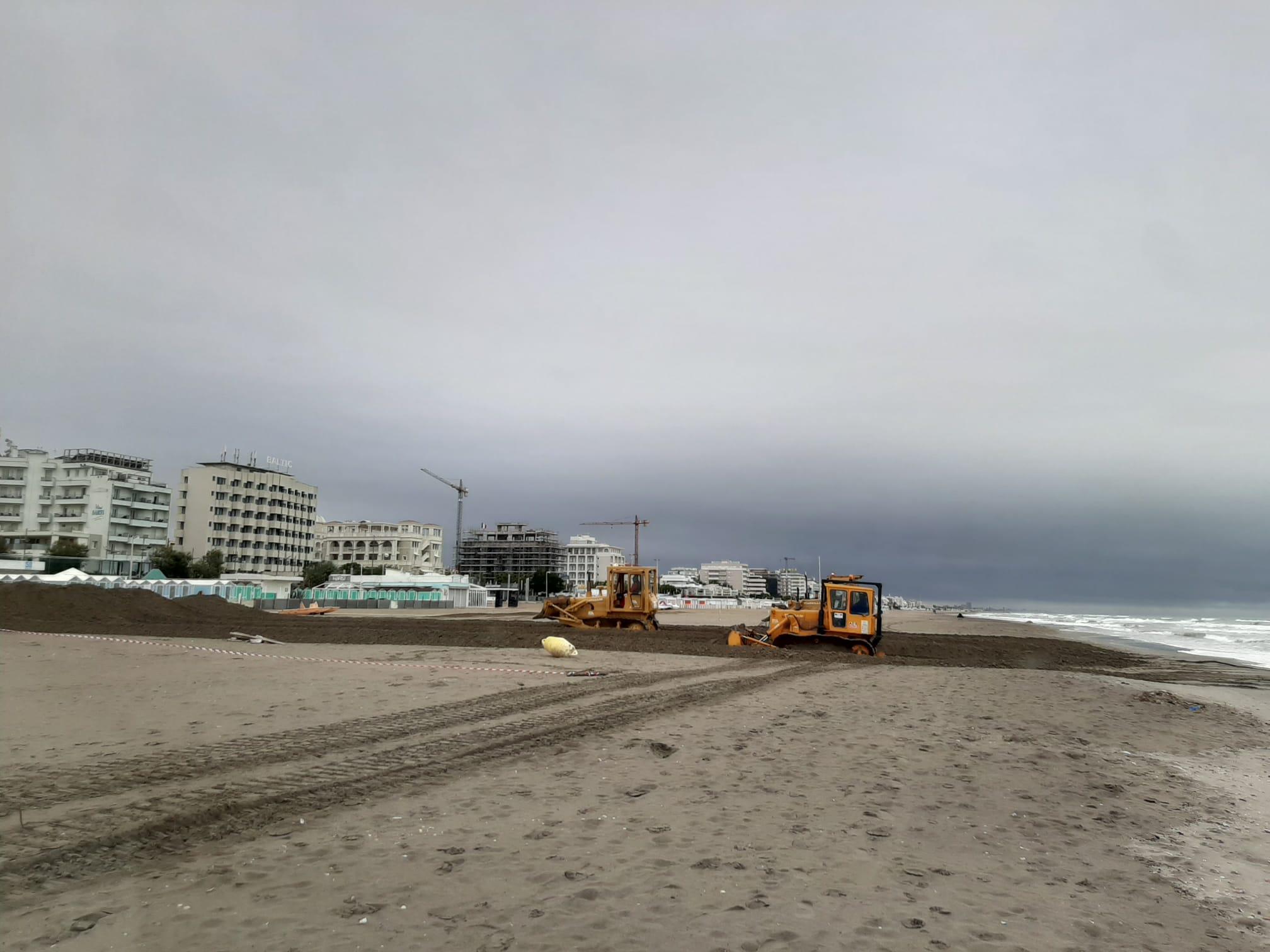 Al via i lavori per duna invernale