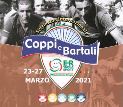 Immagine con manifesto iniziativa Coppi e Bartali 2021