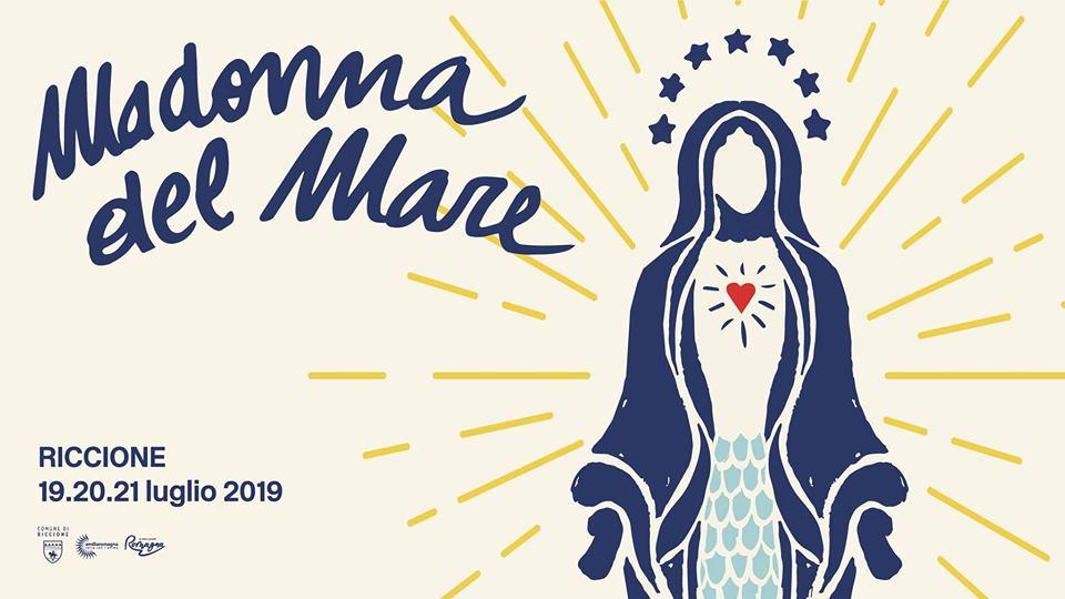 Banner immagine promozionale festa Madonna del Mare
