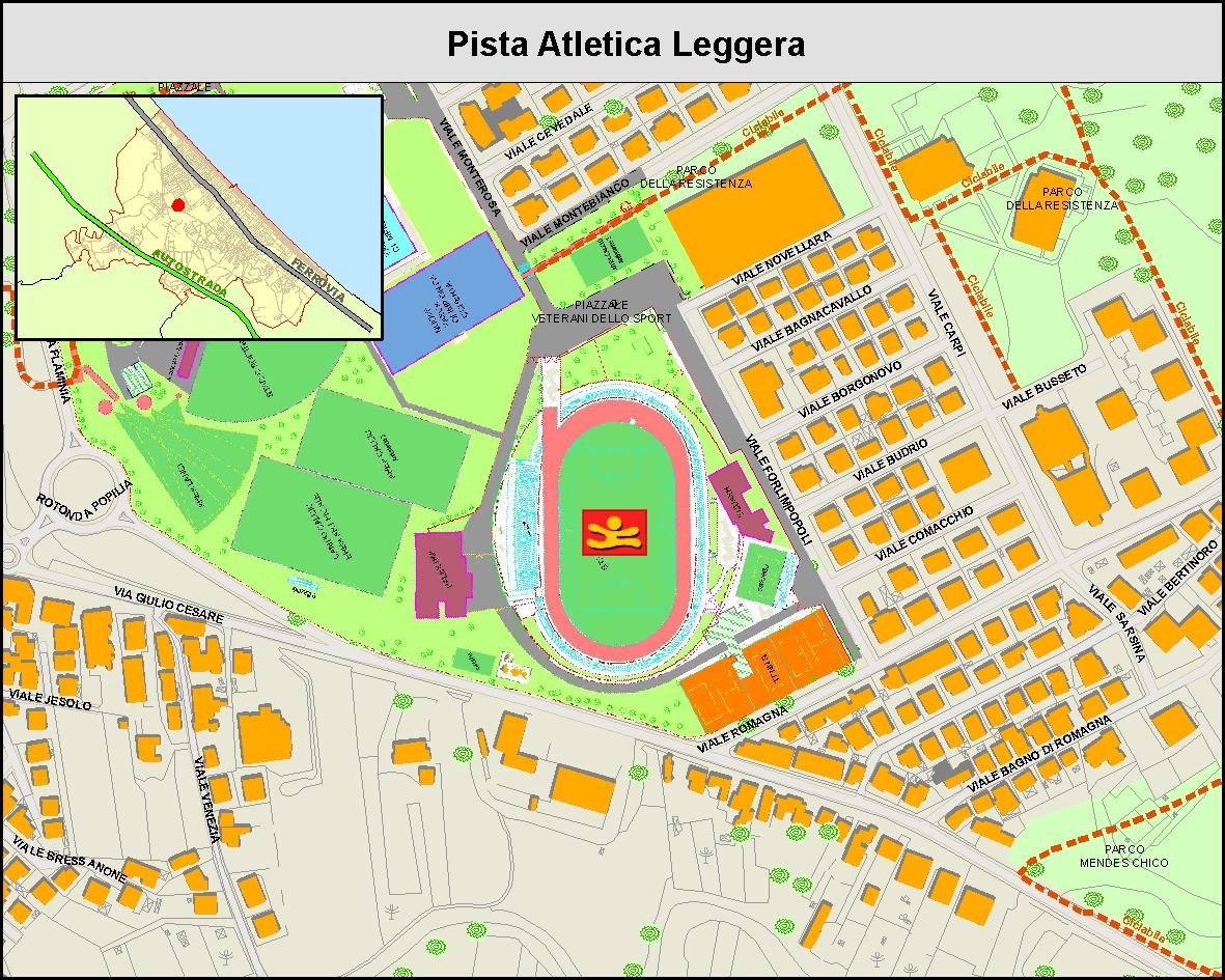 Pista Atletica Leggera - MAPPA