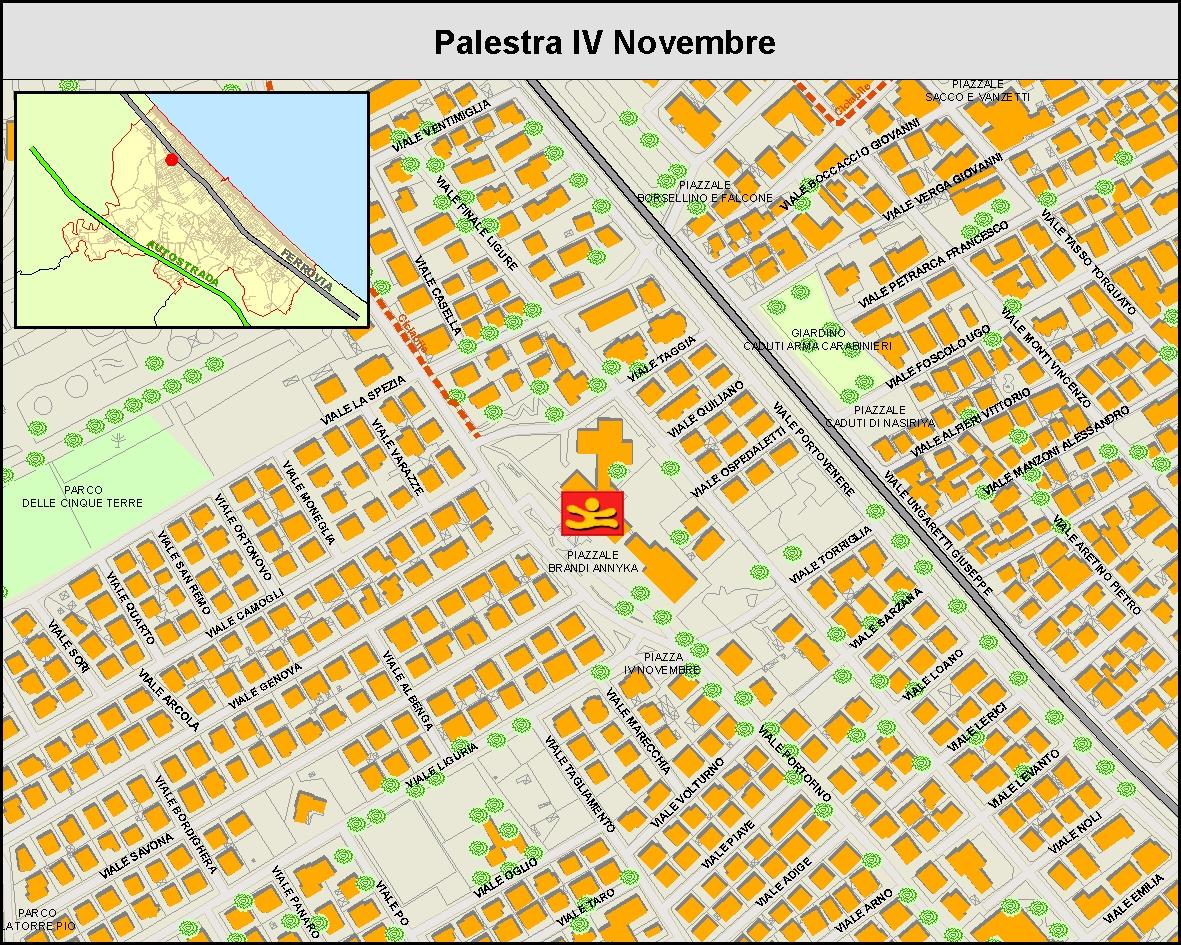 Palestra IV Novembre - MAPPA