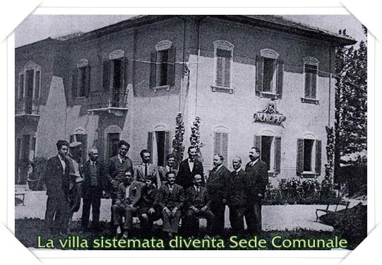 La Villa sistemata diventa Sede Comunale