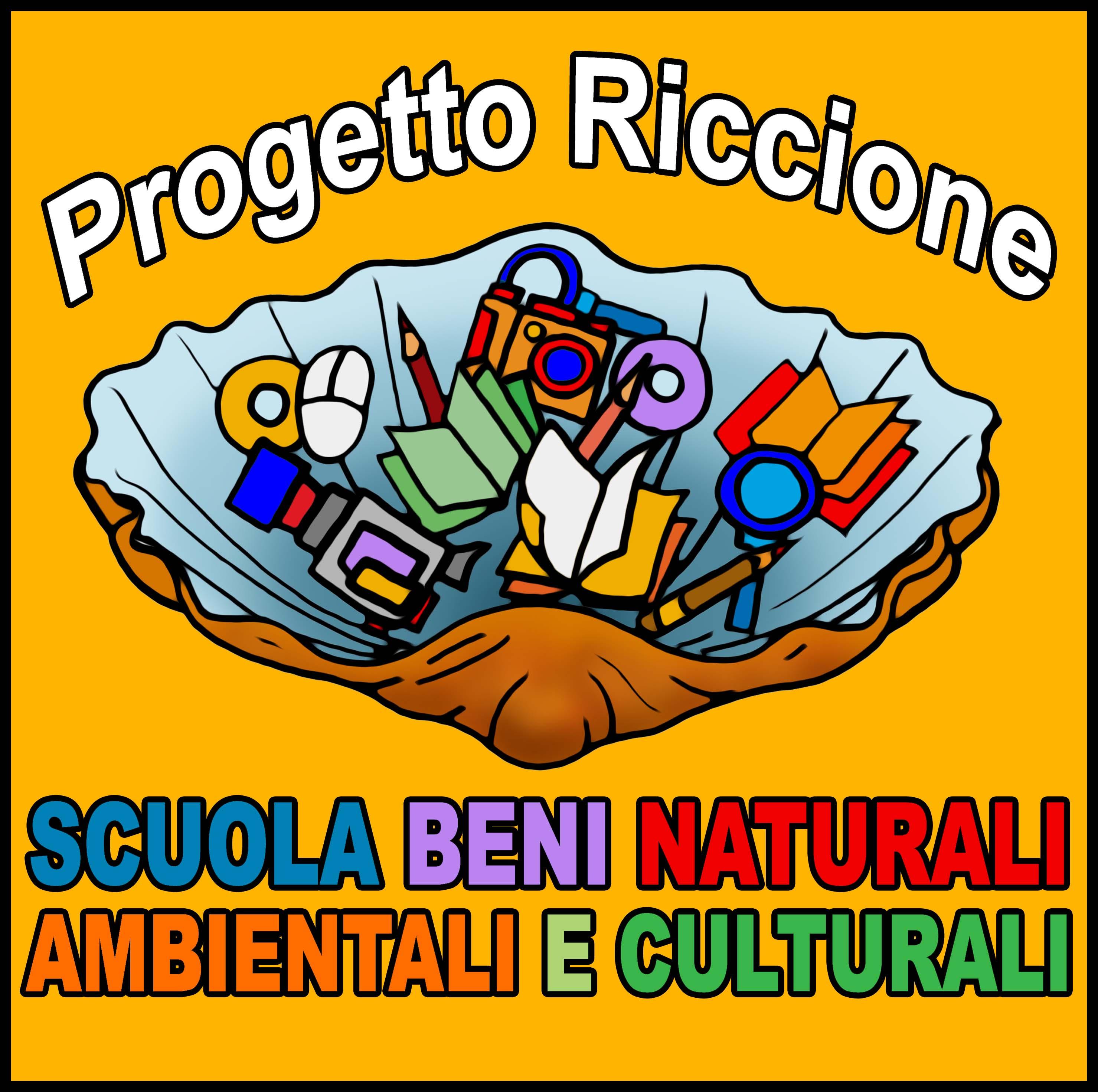 Logo Progetto Riccione Scuola Beni Naturali Ambientali e Culturali