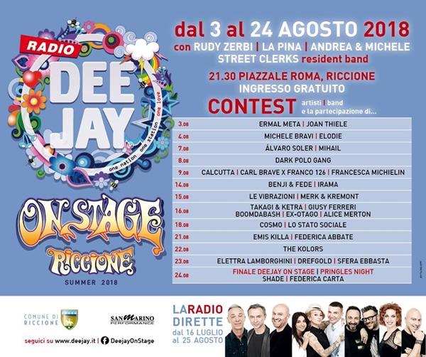 Deejay On Stage Riccione 2018