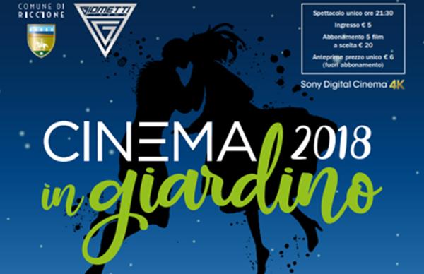 Cinema in Giardino - Agosto