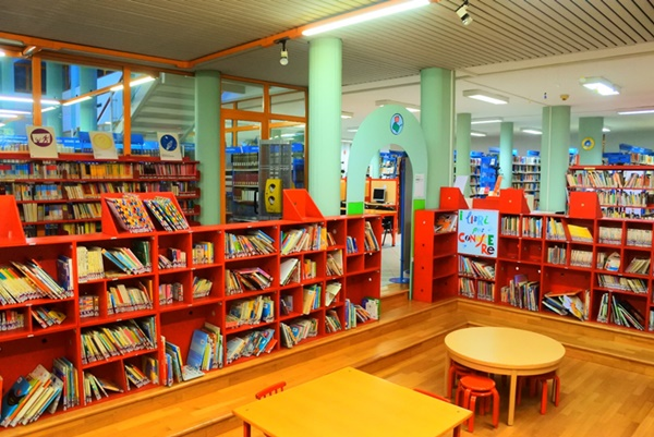 Immagine relativa della sezione Biblioteca denominata primi libri