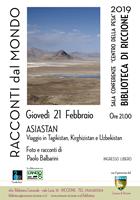 Racconti dal mondo - ASIASTAN - Tagikistan, Kirghizistan e Uzbekistan