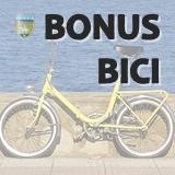 Icona con dicitura bonus bici