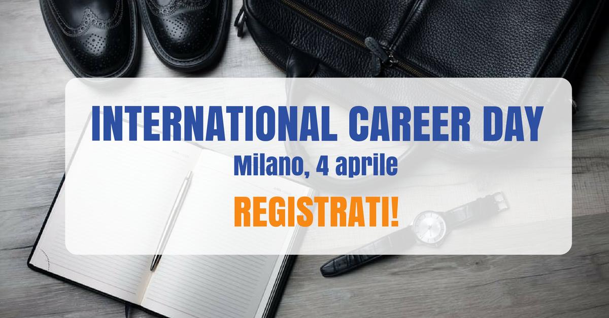 L'International Career Day torna a Milano