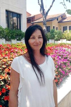 Elena Raffaelli, assessore con deleghe a ATTIVITA' ECONOMICHE, POLIZIA MUNICIPALE, SICUREZZA NEI QUARTIERI, PROTEZIONE CIVILE