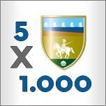Logo - devolvi il tuo 5 x 1000 a sostegno delle attività sociali svolte dal Comune di Riccione