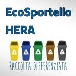 EcoSportello Hera ritiro kit per il servizio di raccolta differenziata