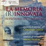 """Domenica 22 gennaio parte il ciclo di conferenze  """"La memoria (R)innovata. Il futuro dell'antico"""" con il direttore del Museo Egizio Christian Greco"""