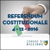 REFERENDUM COSTITUZIONALE DEL 4 DICEMBRE 2016 - VOTO DOMICILIARE