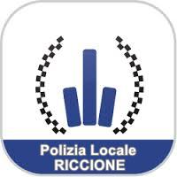 Immagine con dicitura: Polizia Locale Riccione