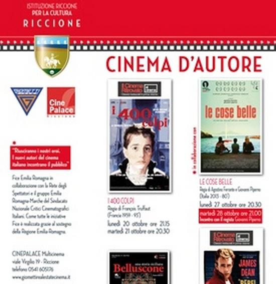 """Riccione Cinema d'Autore: riprende al CinePalace la rassegna di cinema di qualità: """"I 400 colpi"""" di François Truffaut (Francia/1959,93'). Classici restaurati in prima visione"""