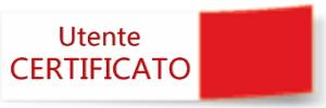 Accedi ai servizi online in modalità: UTENTE CERTIFICATO