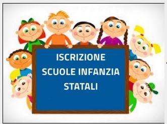 ISCRIZIONI SCUOLE INFANZIA STATALI A.S. 2019-20 E  SERVIZIO MENSA
