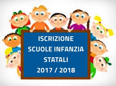 ISCRIZIONI SCUOLE INFANZIA STATALI AS 2018-19 E SERVIZIO MENSA