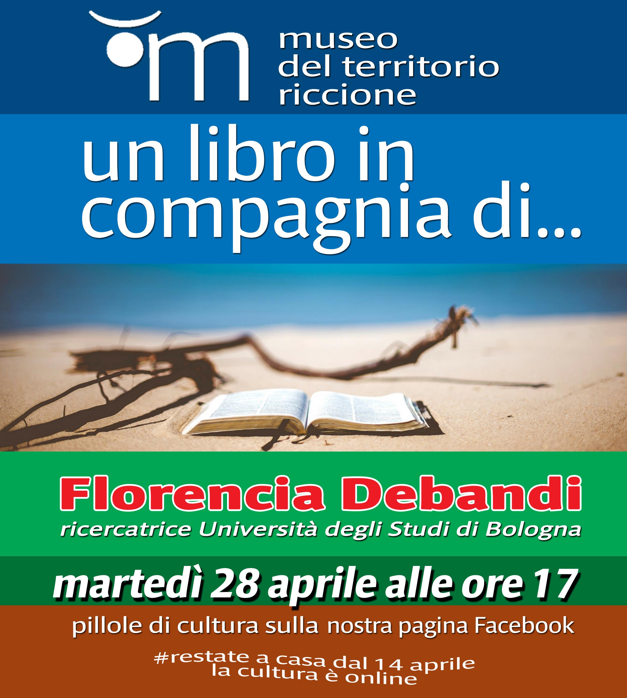 Un libro in compagnia di ... Florencia Debandi ricercatrice Università degli Studi di Bologna