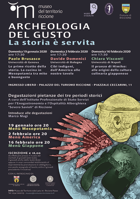Locandina iniziativa : Archeologia del gusto