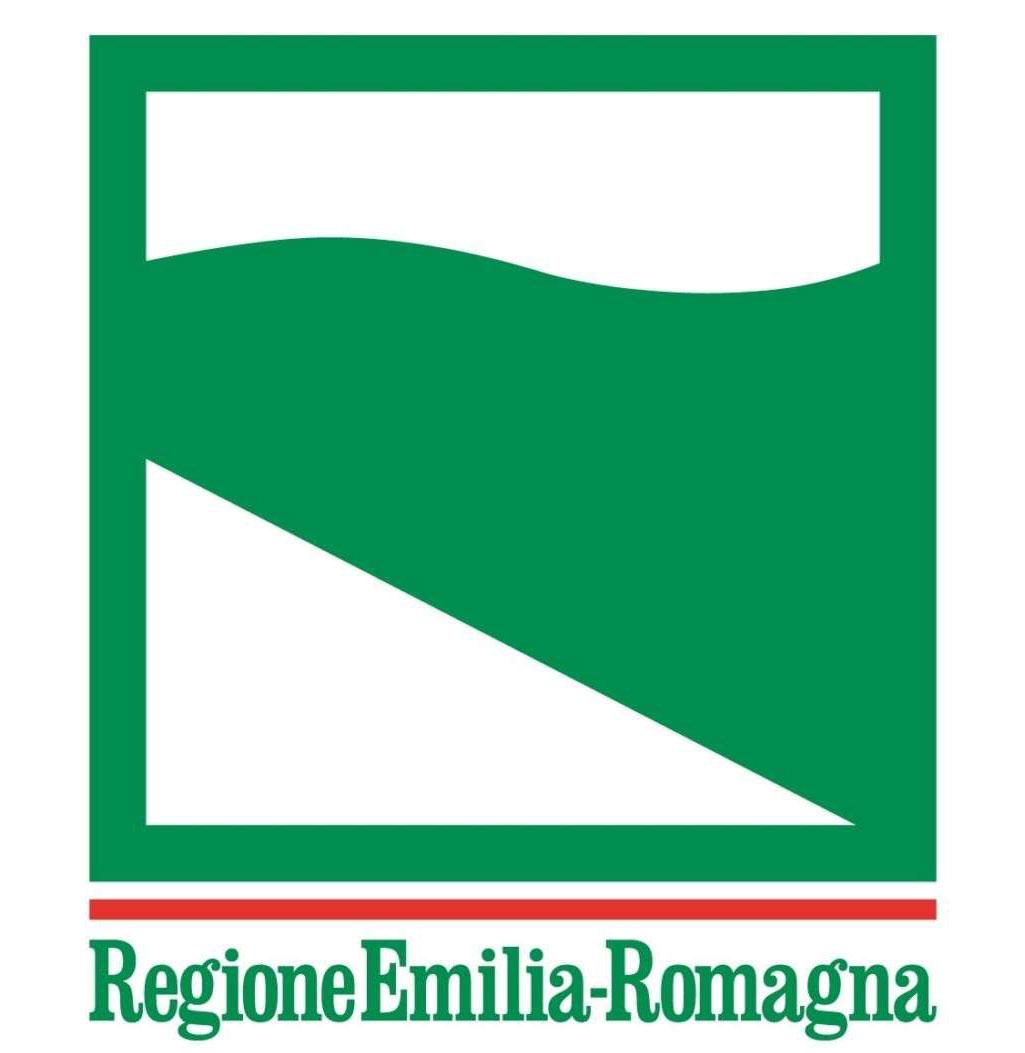 """Logo con dicitura """"Regione Emilia-Romagna"""""""