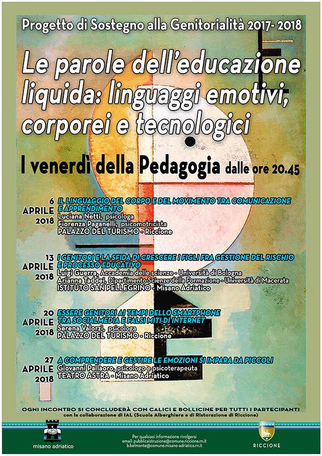 Le parole dell'educazione liquida: linguaggi emotivi, corporei e tecnologici