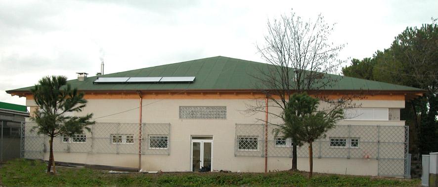 Nuovo Pattinodromo coperto - esterno