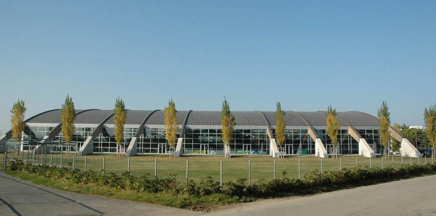 Stadio del Nuoto piscina coperta - esterno
