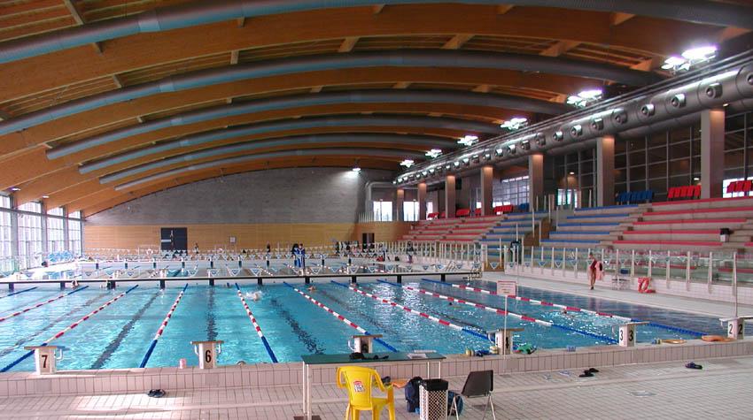 Comune di riccione piscina olimpionica coperta stadio for Piani di piscina coperta