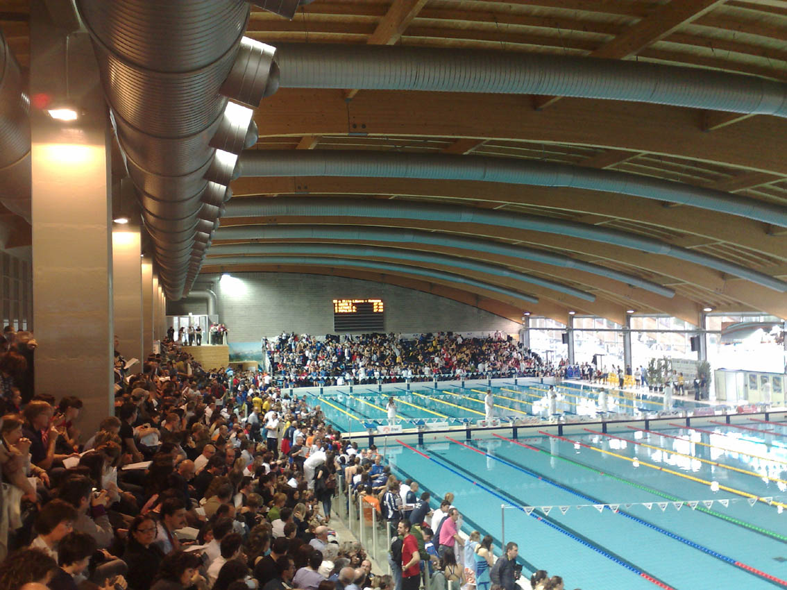 Stadio del nuoto - piscina coperta int 3