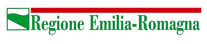 """Banner con dicitura """"Regione Emilia-Romagna"""""""