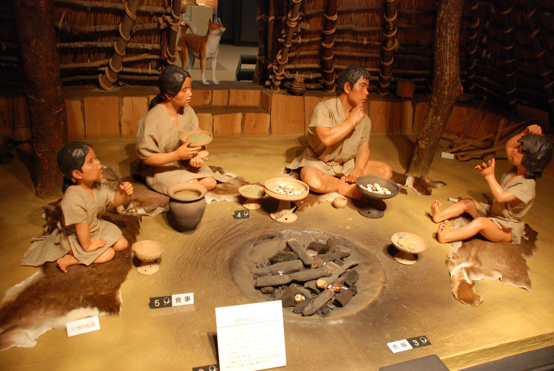 ricostruzione pasto museo di osaka