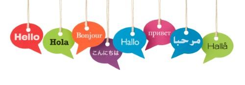 Banner simbologico multilingua